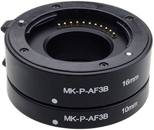 Mcoplus MK-P-AF3-B 10mm 16mm sistema automatico tubo estensione per Olympus Panasonic Micro 4/3 macchina fotografica