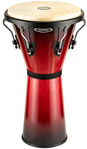 "MEINL Percussion マイネル ジャンベ Headliner Series Wood Djembe 12 1/2"" Wine Red Burst HDJ500WRB 【国内正規品】"