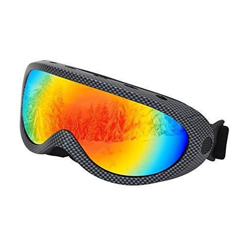 Allegorly Gafas De Esquí Antivaho, ProteccióN UV, Gafas De Snowboard para La Nieve, Snowboard, Moto De Nieve, MonopatíN, Moto, EquitacióN, Gafas De Nieve para Hombres, Mujeres Y JóVenes