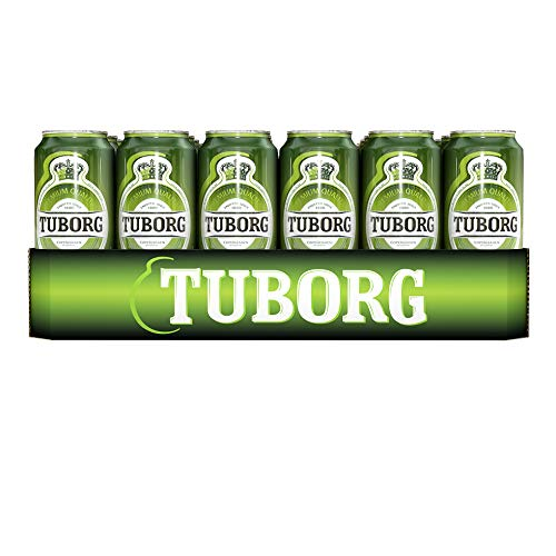 2 x Tuborg Pilsener aus Dänemark 24x 0,5L = 48 Dosen 4,9% Vol.-_EINWEG