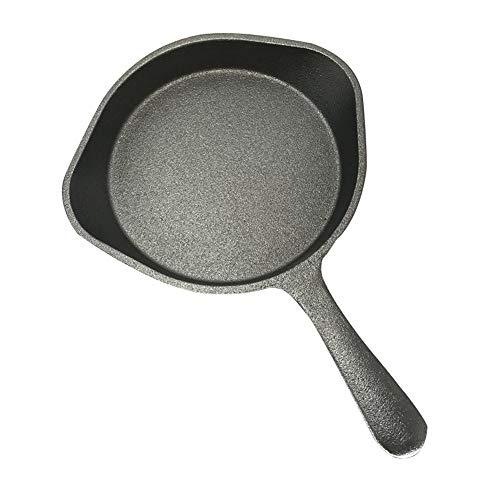 LMJ Outsider Kleine gietijzeren pan, gietijzeren koekenpan anti-aanbaklaag gebakken ei pot steak pot gietijzeren pot