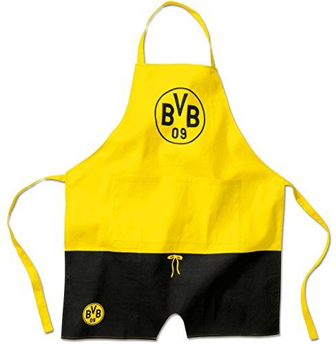 Borussia Dortmund Grillschürze / Kochschürze / Schürze BVB 09 - plus gratis Aufkleber forever Dortmund