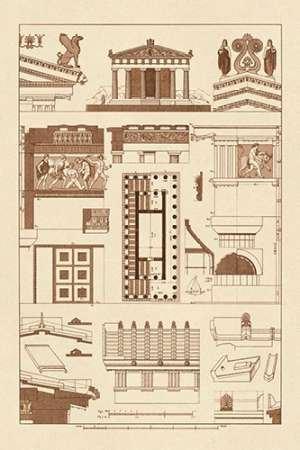 Feeling at home Imagen sobre Lienzo con Caja Americana Templo de Atenea...