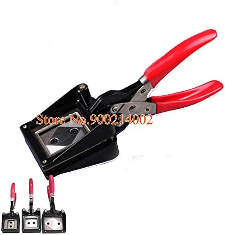 Special price Tool Parts Multi Size Hand Max 72% OFF Held ID Punch Passport License Photo