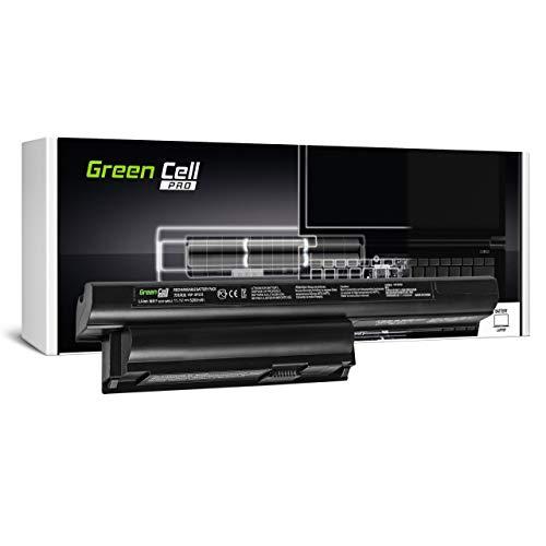 Green Cell Pro Batería para Sony Vaio SVE1513L1RW SVE1513M1EW SVE1513P1RW SVE1513V1ESI SVE1513W1EB SVE151E11M SVE151E11T SVE151E13T SVE151G13M SVE151G13T Portátil (5200mAh 11.1V Negro)