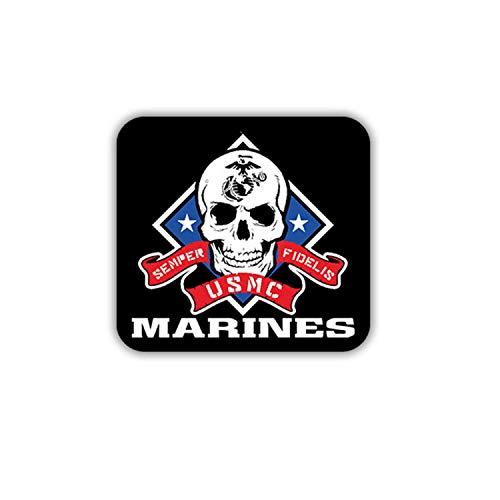 Aufkleber/Sticker Marines USMC United States Marine Corps Us Army 7x7,5cm A1701