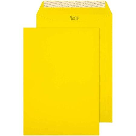 Glace Vanille 63954 Bo/îte de 10 Blake Creative Colour C4 229 x 324 mm 120 g//m/² Enveloppes Pochettes Bande Adh/ésive