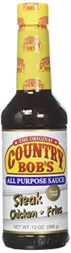powerful Country Bob Universal Sauce, 13 oz (3 packs)