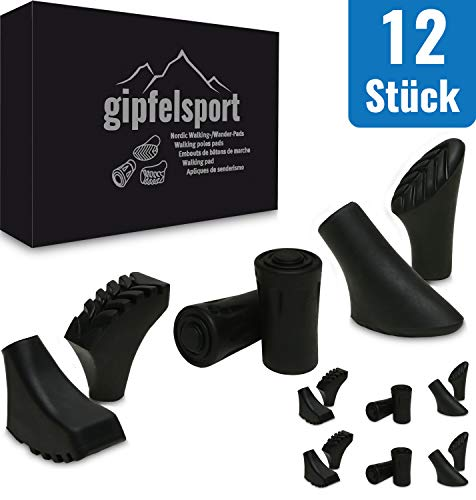 gipfelsport Walking Stock Pads gemischt