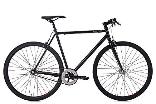 KS Cycling Fixie Fitnessbike 28'' Flip Flop schwarz RH 53 cm