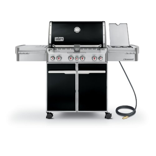 Weber 7271001 Summit E-470 4-Burner Natural Gas Grill, Black - 12-Month a Amazon Assembly Featured Financing for Free Gas Gift Grill Grills Guide: Home Natural Products Select Service Services Through UDS Weber with