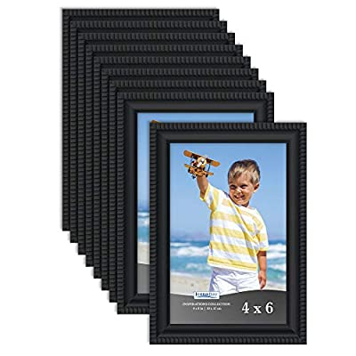 Icona Bay Picture Frames Bulk Set (12 Pack), Wall Mount Hangers and Table Top Easel Included, Display Horizontally or Vertically, Inspiration Collection