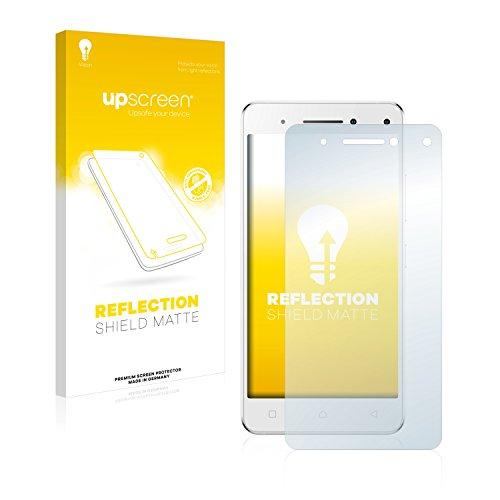 upscreen Entspiegelungs-Schutzfolie kompatibel mit Lenovo Vibe S1 – Anti-Reflex Bildschirmschutz-Folie Matt
