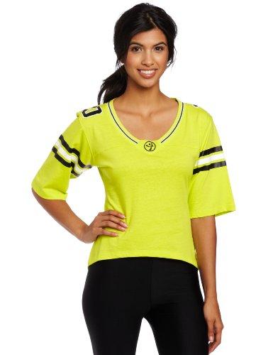 Zumba Fitness LLC Team Spirit Trikot, Damen, Zumba Green, XX-Large
