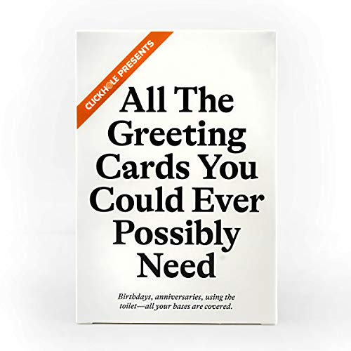 Cards Against Humanity Greeting Cards by ClickHole • 12 Pack • Includes 15 New Cards