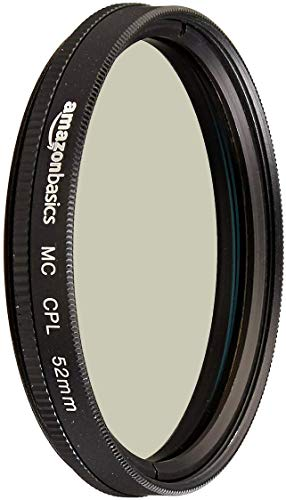 AmazonBasics Zirkularer Polarisationsfilter - 52mm