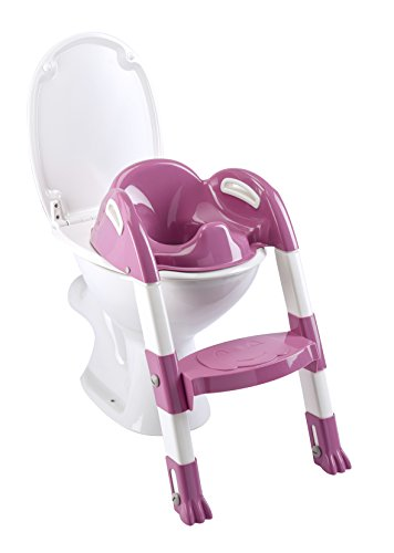 Thermobaby 2172552ALL Kiddyloo Toiletten-Trainer, fuchsia/weiß/rosa
