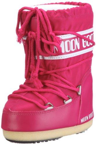 Moon Boot 140044, Stivali Invernali Unisex, Rosa (Bouganville), 35-38