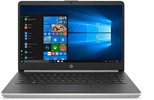 Newest HP 14' HD Premium Business Laptop PC | 10th Gen Intel Quad-Core i5-1035G1 up to 3.6GHz | 8GB RAM | 256GB SSD | WiFi | HDMI | Card Reader | Bluetooth | Windows 10 | Silver (Renewed)