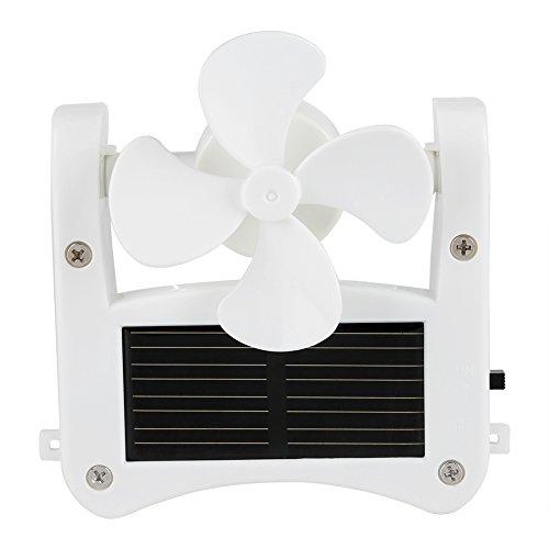 Cafopgrill Tragbarer Solarkappenventilator, Solarkappen-Hutclip auf Mini-Ventilatortaschenclips Solarhut-Sportventilator USB-Hängekühler für Indoor Ourdoor