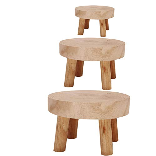 estanterias madera para bonsai