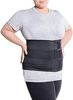 comprar comparacion Faja de sujeción para la espalda; cinturón lumbar de soporte con fijación rígida; 6 refuerzos / 31cm de altura; para perso...