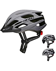 Cairbull Fietshelm voor dames en heren, voor racefiets, mountainbike-helm, uitgerust met zonnebril, vizier/rand