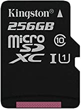 Professional Kingston 256GB Samsung Galaxy Trend Lite MicroSDXC Card with Custom formatting and Standard SD Adapter! (Class 10, UHS-I)