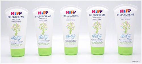 HiPP Babysanft Pflegecreme, 5er Pack (5 x 75ml)
