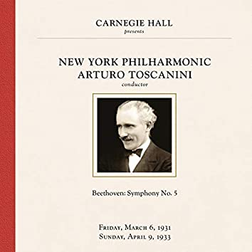 Beethoven: Symphony No. 5 in C Minor, Op. 67 (1931 & 1933 Recordings)