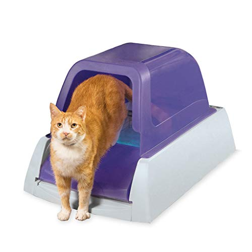 PetSafe ScoopFree Ultra Self-Cleaning Cat Litter Box – Automatic with...