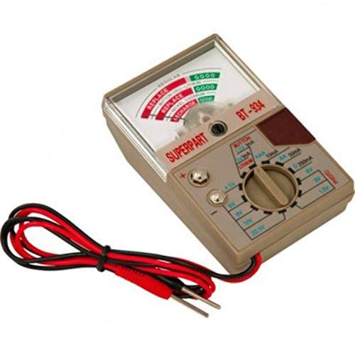 Becocell Batterietester Superpart BT-934 Messbereich (Batterietester) 1,2 V, 1,5 V, 3 V, 3,6 V, 3,7 V, 6 V, 9 V, 12 V A
