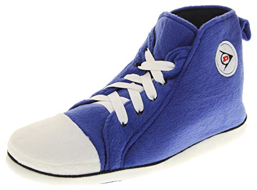 Unisex-Erwachsene Dunlop Sports Sneaker Stiefel Hausschuhe Blau EU 44-45 (L)