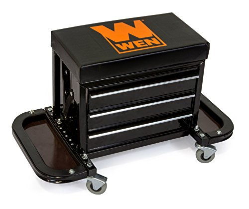 a rolling tool chest seat is a nice gift for dads who say they don't want gifts on fathers day