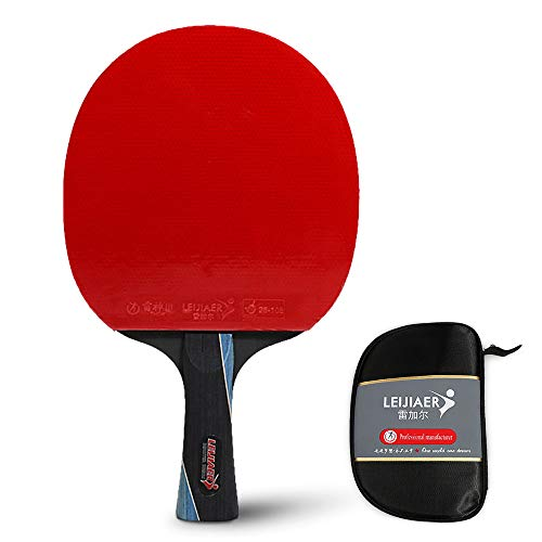 Learn More About Walmeck Professional Ping Pong Paddle Quality Table Tennis Racket Short Handle Ping...