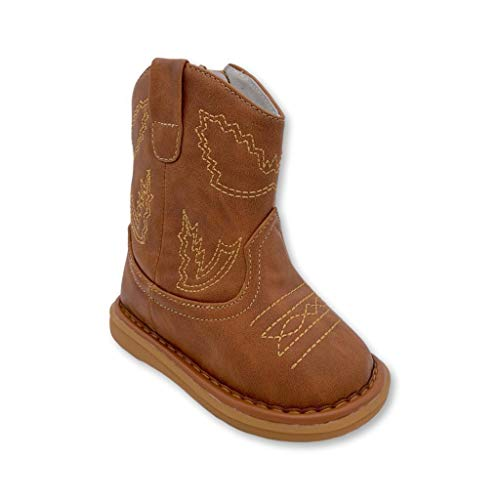 Wee Squeak Toddler Squeaky Boots Western Size 4