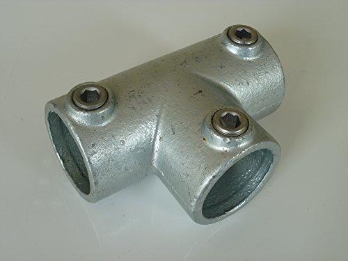 B&T Metall Rohrverbinder T-Stück lang T104 Ø 26,9 mm (3/4