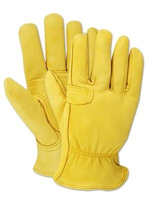 Magid TB558ELT-S Women's Pro Grade Collection Cutter Goatskin Gloves, Small (1 Pair)