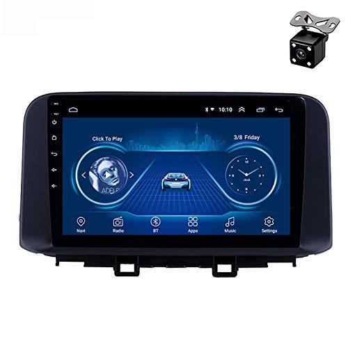 PLOKM Android 8,1 10,1 Pulgadas estéreo de Coche Doble DIN GPS Radio 9 Pulgadas Reproductor Multimedia de DVD para Hyundai Encino 2018 2019 Soporte Espejo Enlace Radio de Coche#2