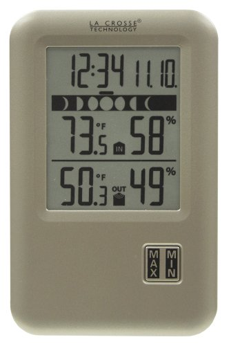 La Crosse Technology WS-9066U-IT Wireless Weather Station with Moon Phase