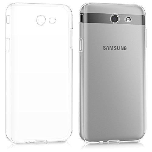 kwmobile Hülle kompatibel mit Samsung Galaxy J7 (2017) DUOS - Hülle Handy - Handyhülle in Transparent
