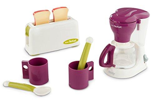 Smoby 310507 - Tefal Frühstücksset mit Kaffeemaschine