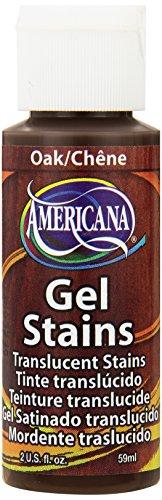 DecoArt DS30-3 Americana Gel Stains Paint, 2-Ounce, Oak