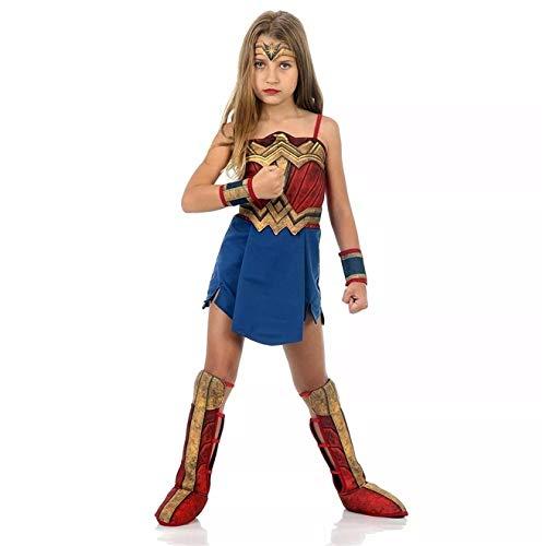 Fantasia Mulher Maravilha Infantil Luxo - Batman vs Superman P 2-4