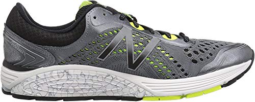 New Balance Men's FuelCell 1260 V7 Running Shoe, GunmetalwithBlack, 8 D US