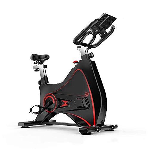 ZCYXQR Silent Indoor Cycling Bicicleta estática Deportes Ciclismo Equipo de Fitness Hogar Equipo Deportivo de Interior con Tableta Ejercicio Bicicleta estática (Deporte de Interior)