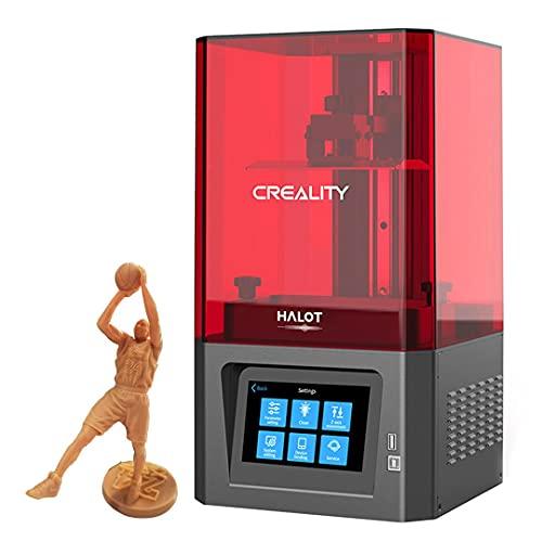 Creality SLA Impresora 3D de Resina,Impresoras 3D LCD HD de Fotopolimerización UV con LCD Monocromático 2K Precisión con Fuente de luz Integrada con WiFi ,Tamaño de Impresión 127*80*160mm