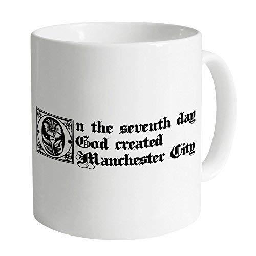 N\A Lustige Tassen Kaffeetassen Manchester City Seventh Day Mug