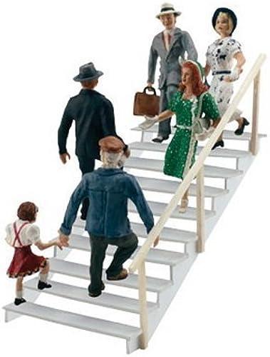 salida de fábrica Scenic Accents Taking the Stairs HO Scale Woodland Scenics Scenics Scenics by Woodland Scenics  estilo clásico