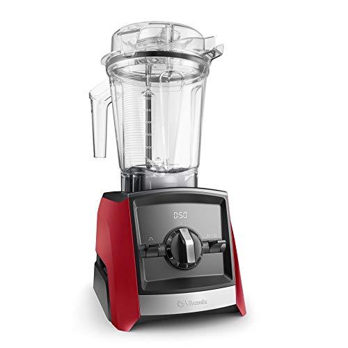 Vitamix ASCENT A2300i Hochleistungsmixer - Der Mixer ist stärker, leiser, moderner: Innovative Weiterentwicklung vom Vitamix TNC (rot)